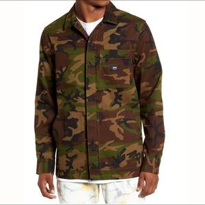 VANS Fullerton Camo Chore Men's Jacket Cotton